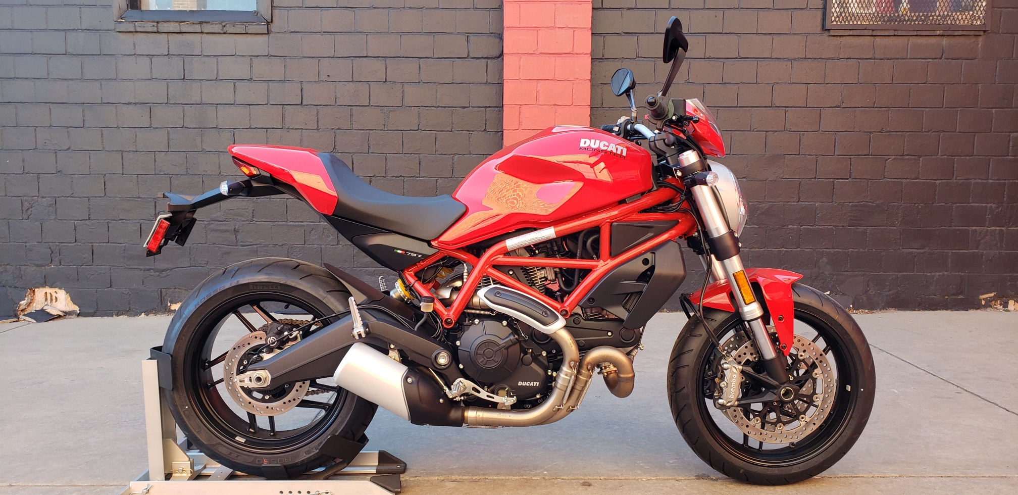 New 2019 DUCATI Monster 797+