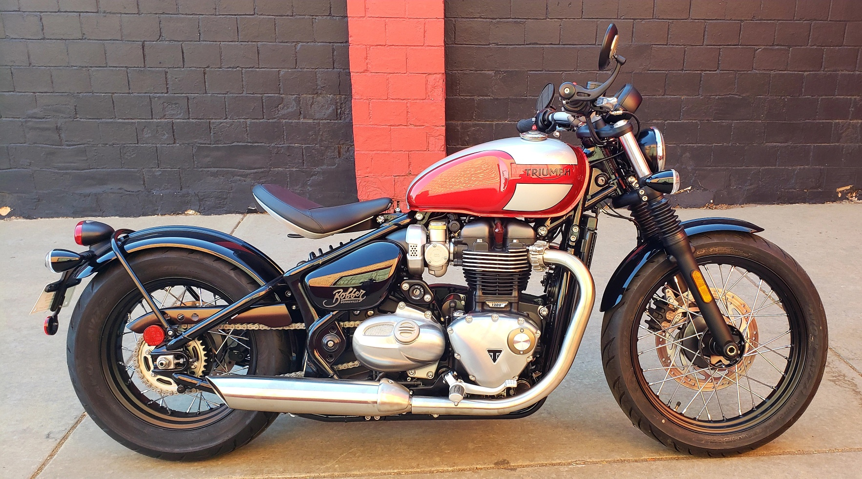 New 2019 Triumph Bonneville Bobber Motorcycle In Denver 18t72