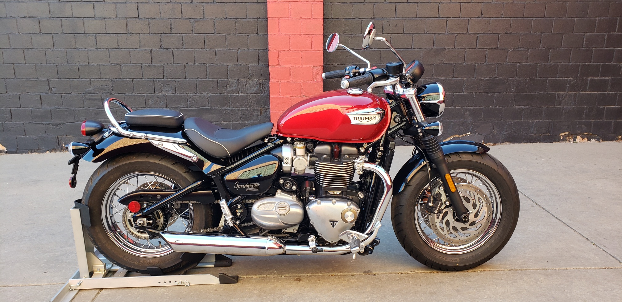 New 2018 Triumph Bonneville Speedmastercranber Motorcycle In Denver
