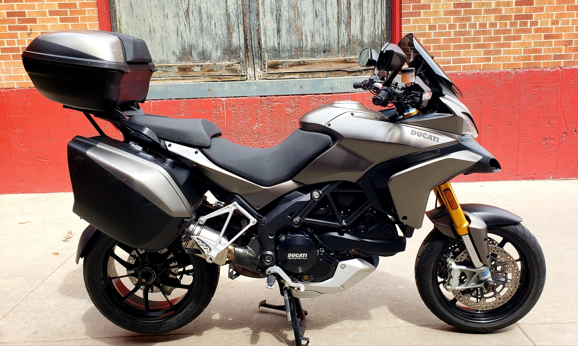 Pre-Owned 2012 Ducati MULTISTRADA 1200 S TOURING