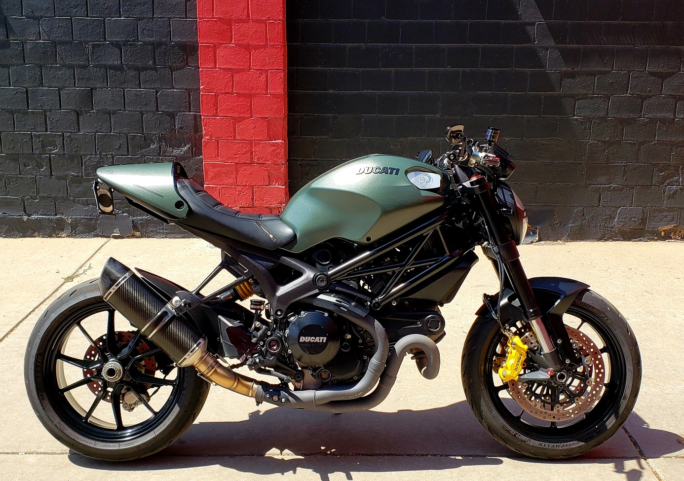 Pre-Owned 2013 DUCATI MONSTER 1100 EVO Diesel Special Edition